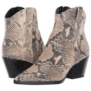 Dolce Vita Serra Boots in Snakeskin (Never Worn)